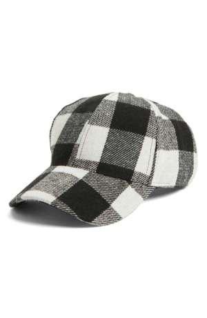 Buffalo Check Baseball Cap