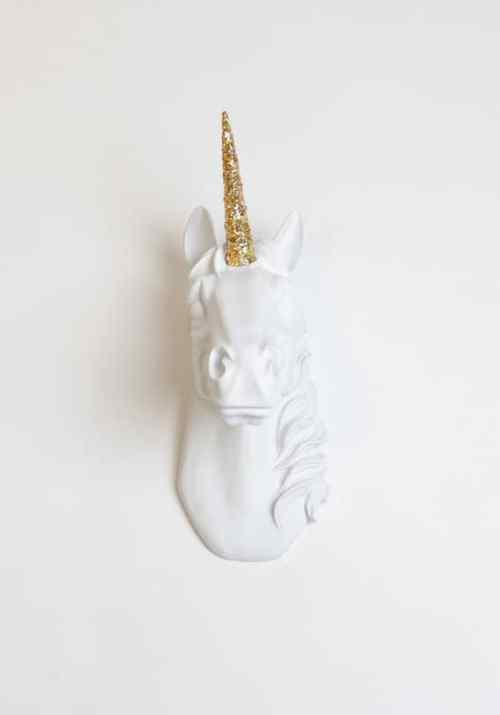 Mounted Unicorn Head