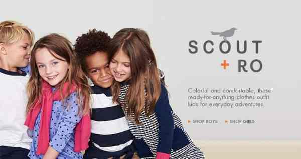 Amazon's In-House Fashion Brands: Scout + Ro for boys and girls