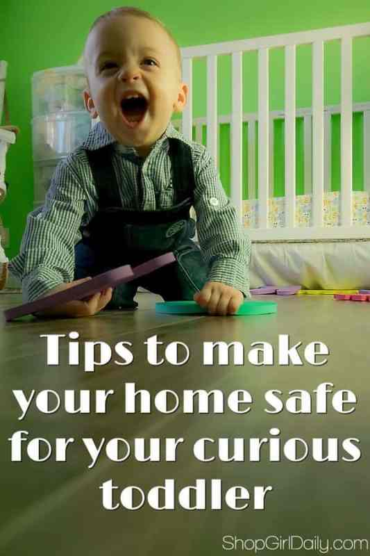 Home Safety Tips: Keep Your Curious Toddler Safe | ShopGirlDaily.com