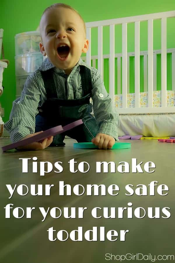Home safety tips: Here are a few ideas for how to keep your curious toddler safe as they explore your home.