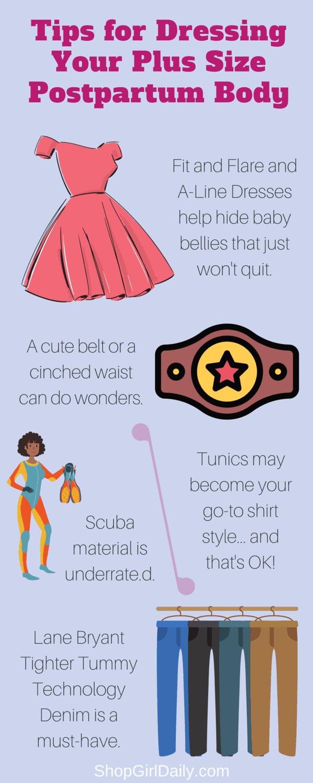 Tips for Dressing Your Plus Size Postpartum Body | ShopGirlDaily.com