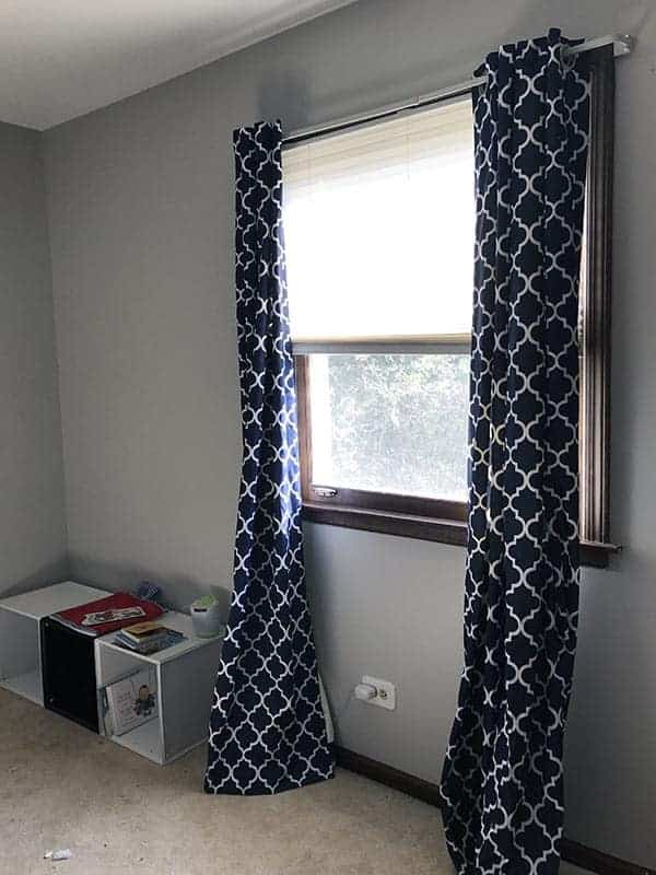 Gray boy's bedroom