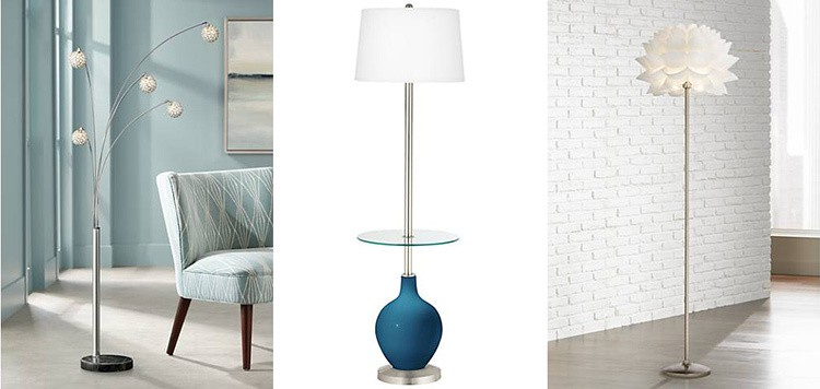 Chic Floor Lamps from Lamps Plus