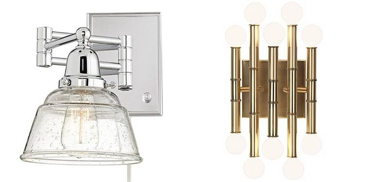 Lamps Plus Plug-In Wall Sponce