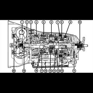 Mopar HEMI NAG1 Transmission  shopHEMI