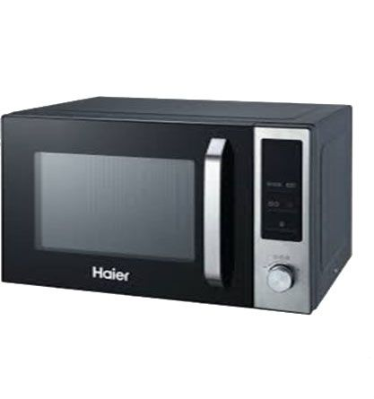 haier 25100egb microwave oven with grill 25 litre