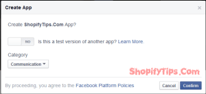 Get App ID and App Secret key from Facebook 4