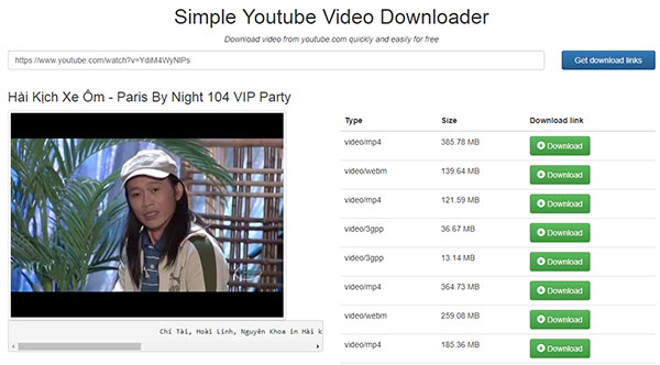 Downloadyoutubevideofo supports downloading online videos from the download links of available formats will be shown below click on the download button to download as mp4 flv or webm format ccuart Choice Image