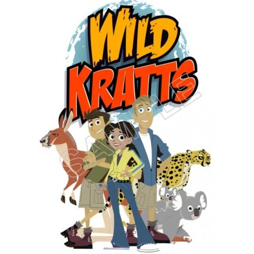 Wild Kratts T Shirt Iron On Transfer Decal 1