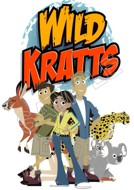 Wild Kratts T Shirt Iron On Transfer Decal 1