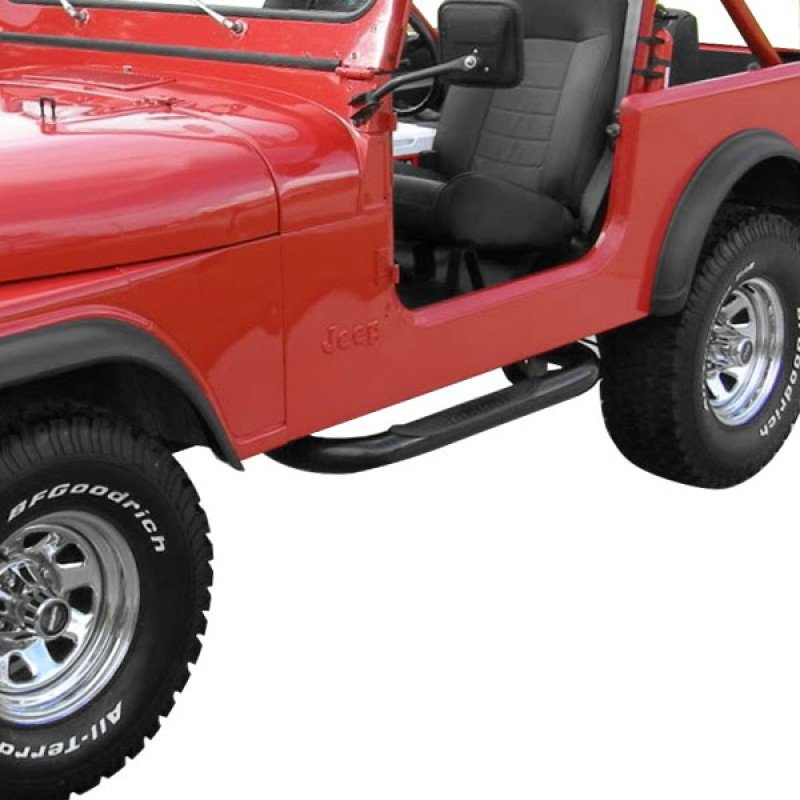 1976 Jeep Top Installation
