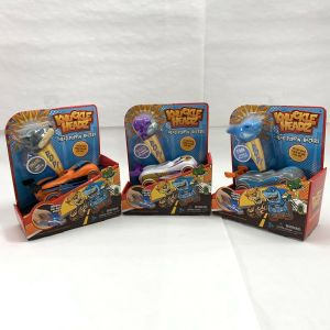 Knuckle-Headz Set of 3 – Finn, Francis, Snarl,  Head Poppin' Racers