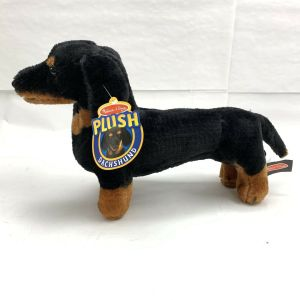 "New Melissa & Doug Stuffed Plush 20"" Dachshund Dog Pup Stuffed Animal Ships Fast"