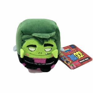 "DC Comics Teen Titans Go! 4"" Kawaii Cube Plush Beast Boy 03-m"