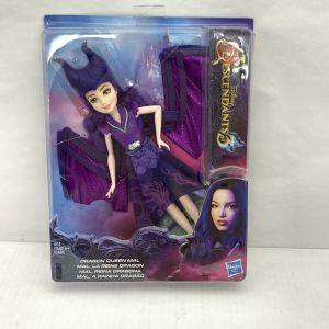 "DISNEY DESCENDANTS 3 ""DRAGON QUEEN MAL""  WITH ACCESSORIES BY HASBRO"