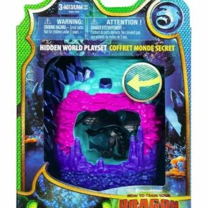 DreamWorks Dragons Hidden World Playset Dragon Lair with Collectible Toothless