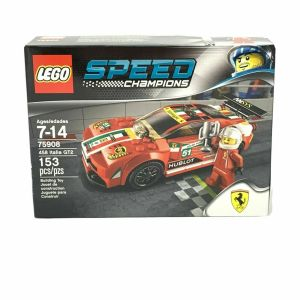 LEGO Speed Champions 75908 – FERRARI 458 ITALIA GT2 – Brand New, Retired