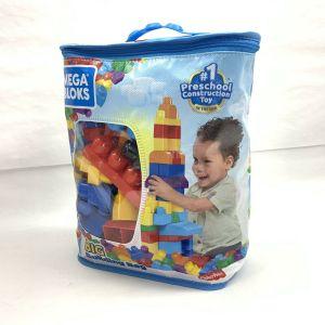 Mega Bloks Big Building Bag – 80 Pieces NEW!