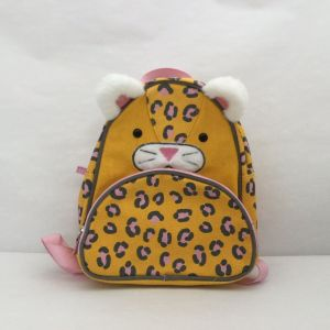 "New Cat & Jack Yellow & Pink Cat Print Canvas 10"" Kids' Mini Backpack Furry"