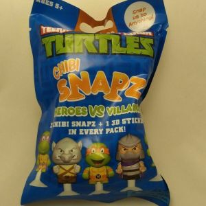 TEENAGE MUTANT NINJA TURTLES CHIBI SNAPZ Unopened pack RARE TMNT