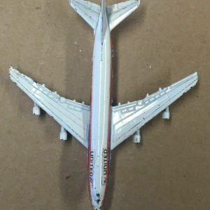 ZYLMEX DYNA-FLITES DIECAST BOEING UNITED 747 A105
