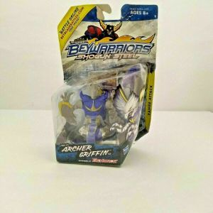 2013 HASBRO BEYWARRIORS ARCHER GRIFFIN RANGE ATTACK TOY DAMAGED BOX