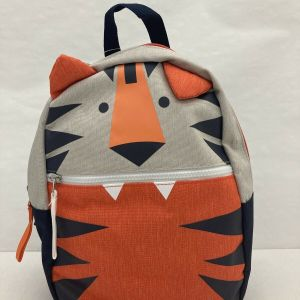 "Cute Cat & Jack 12"" Tiger Mini KIds Backpack With Ears, New With Tags"