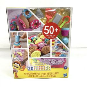 Play-Doh Kitchen Creations – Great Baking Book Set 50 Pieces in box 8 lbs NEW