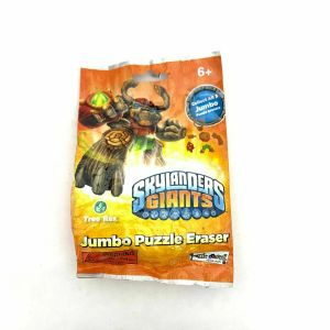 Skylanders Giants Jumbo Puzzle Eraser *NEW Sealed Blind Bag