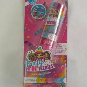 Brand New Party Pop Teenies Double Surprise Popper Series 1 Glitter Edition!