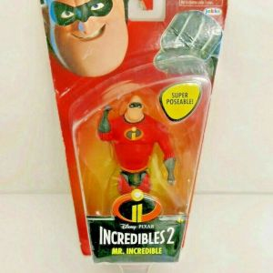 Disney Pixar The Incredibles 2 Mr. Incredible Poseable Figure Ages 4+