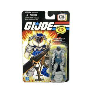 G.I. Joe Cobra Polar Assault – SNOW SERPENT 25th Anniversary Action Figure 2008
