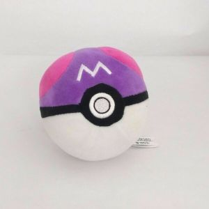 "5.5"" Pokemon Poke'ball Master Ball, Plush Toy, Doll, Stuffed Animal, Nintendo"