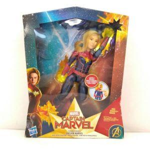Marvel Captain Marvel Photon Power FX Electronic Energy Blasting Super Hero Doll
