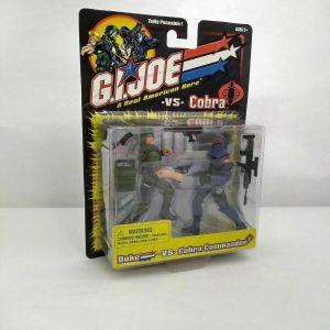 Hasbro G.I. Joe 2001 Figure Set – DUKE vs COBRA COMMANDER