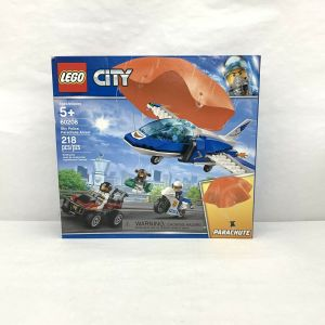 LEGO City 60208 Sky Police Parachute Arrest Set New! Airplane and Motorcycle