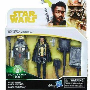 STAR WARS Force Link 2.0 – Lando Calrissian and Kessel Guard Brand New NIB!