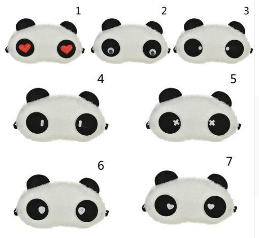 Panda Sleeping Eye Mask