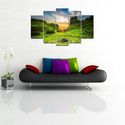 Natural Scenario Wall Canvas
