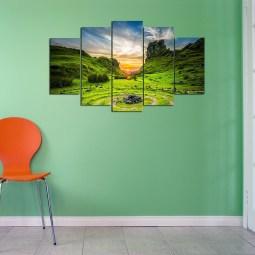 Natural Scenario Wall Canvas