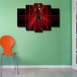 Iron Man wall canvas