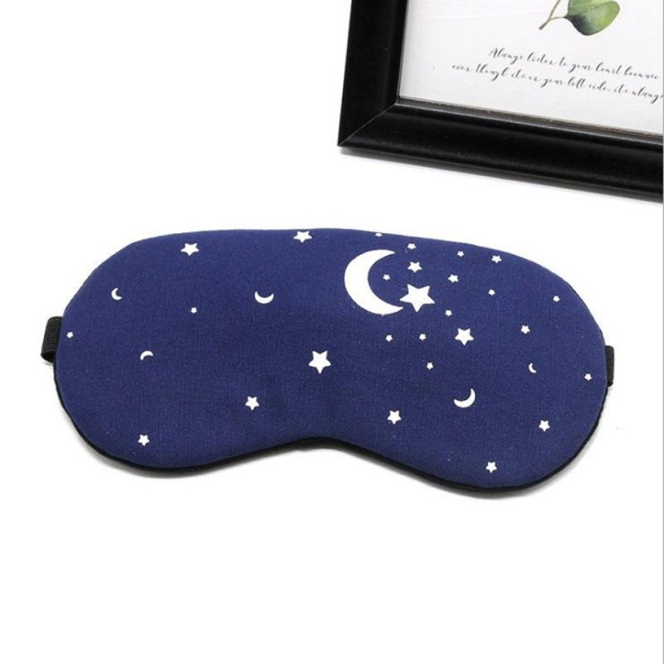 Cotton Travel Eye Mask