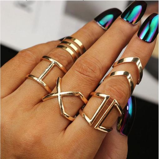 Finger Rings Set