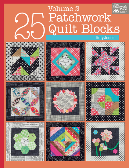 Martingale - 25 Patchwork Quilt Blocks Volume 2 (Print version + eBook bundle)
