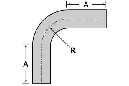 tube 2 5 t304 ss 90 mandrel bend