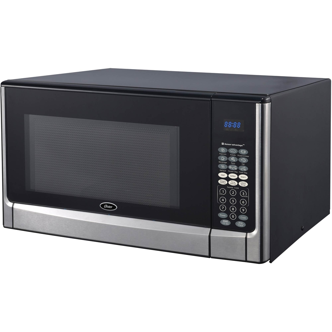 oster 1 6 cu ft countertop microwave oven