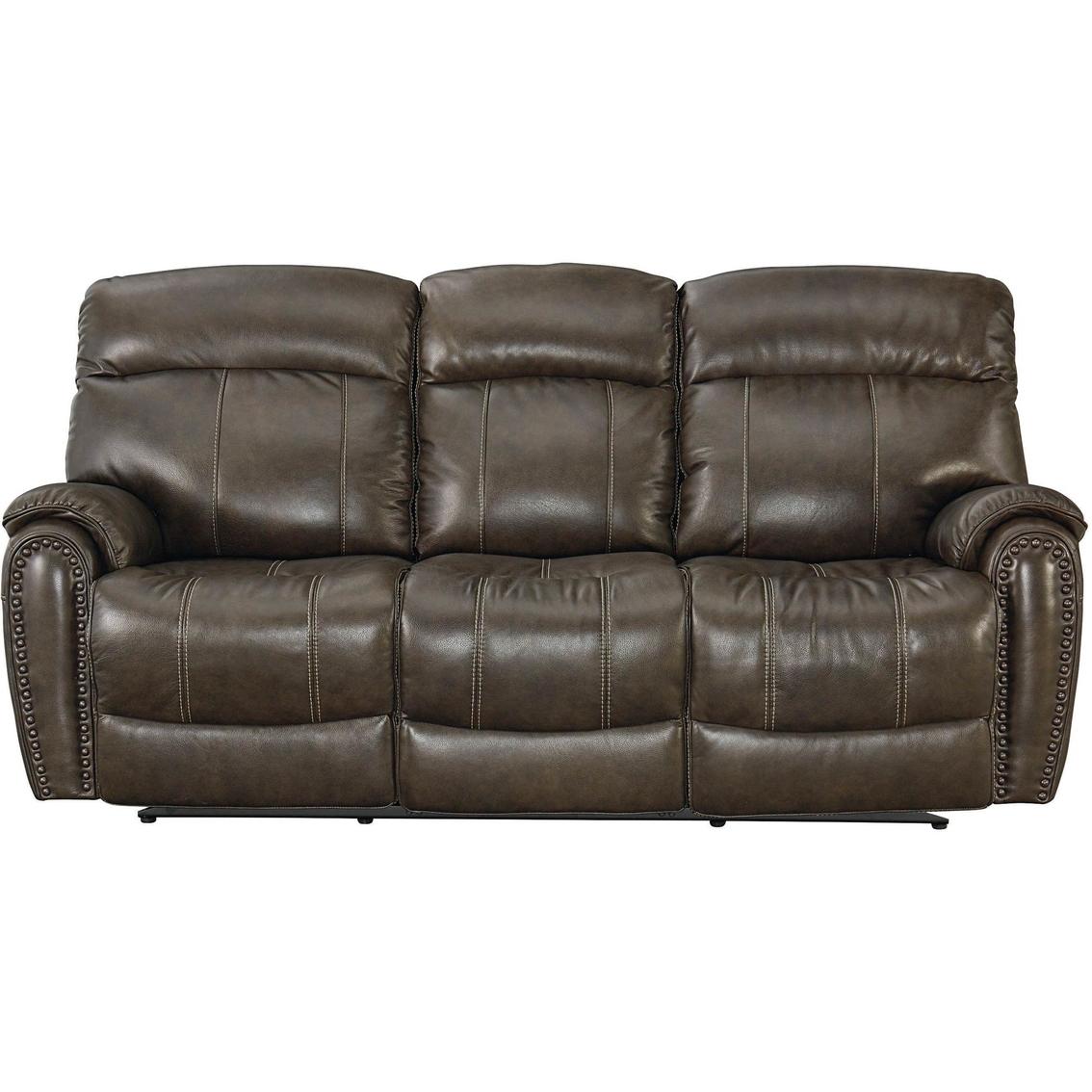 Bassett Club Level Bridgeport Power Reclining Sofa Sofas Couches Furniture Appliances Shop The Exchange