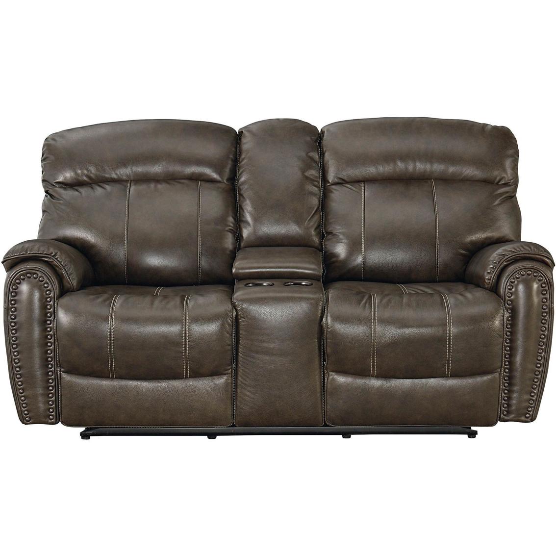Bassett Club Level Bridgeport Power Reclining Loveseat Sofas Couches Furniture Appliances Shop The Exchange