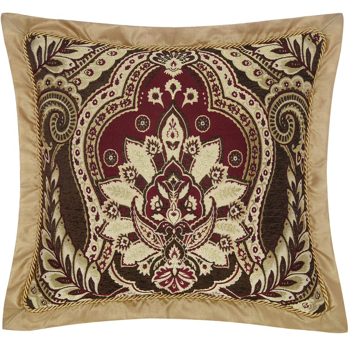 croscill julius square pillow 20 in x